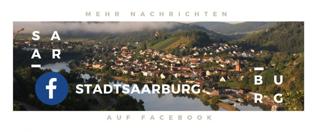 Stadtbild mit Facebook Button
