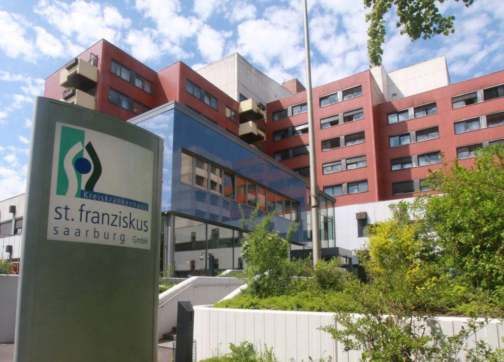 Krankenhaus St. Franziskus Saarburg, Haupteingang