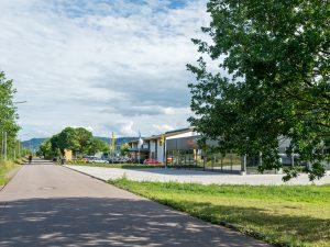 Gewerbegebiete Saarufer, Autohaus