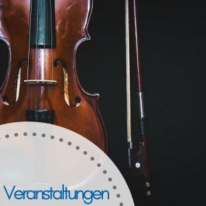 Geige alt vor schwarzem hintergrund