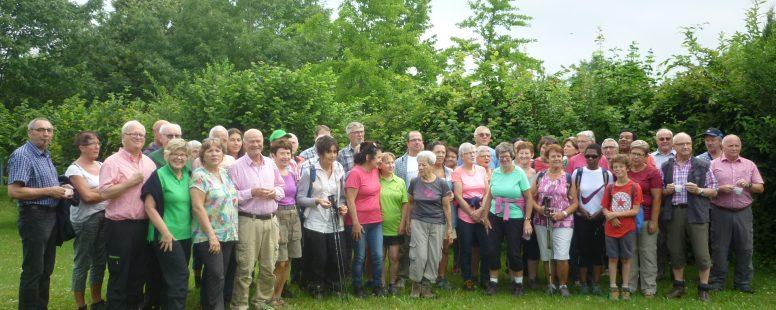Gemeinsamer Wandertag der Partnerstädte Saarburg-Sarrebourg