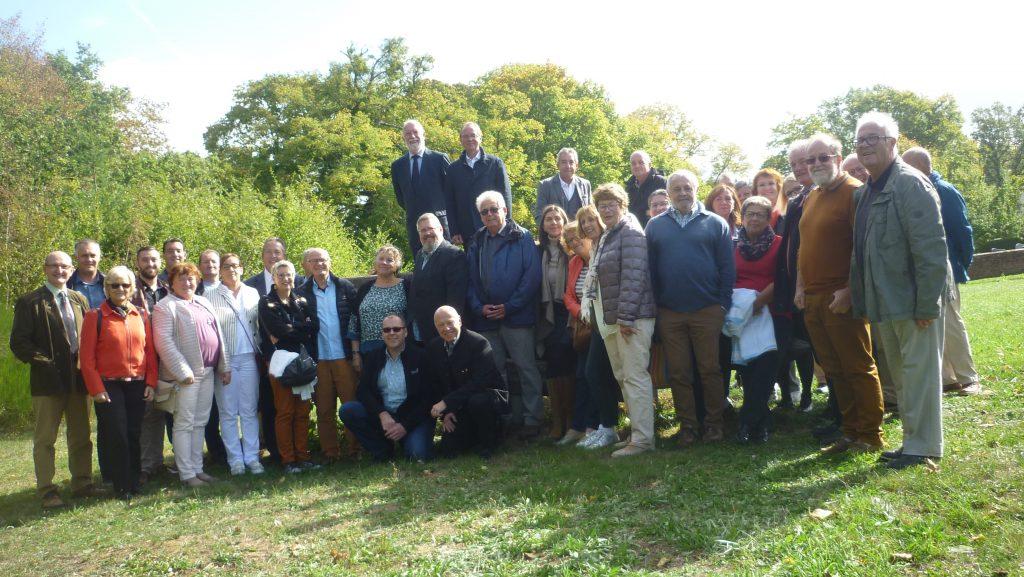 Gruppenbild des Stadtratstreffen Saarburg / Sarrebourg 2018
