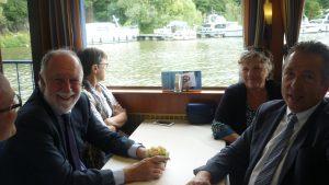 Schiff: Stadtratstreffen mit der Partnerstadt Sarrebourg