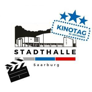 Kinotag, Graphik der Stadthalle mit Kinotag Emblem