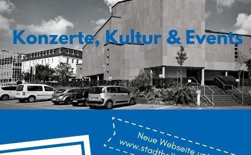 Webseite der Stadthalle Saarburg in neuem Design