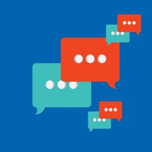 Gesprächssymbole Blasen
