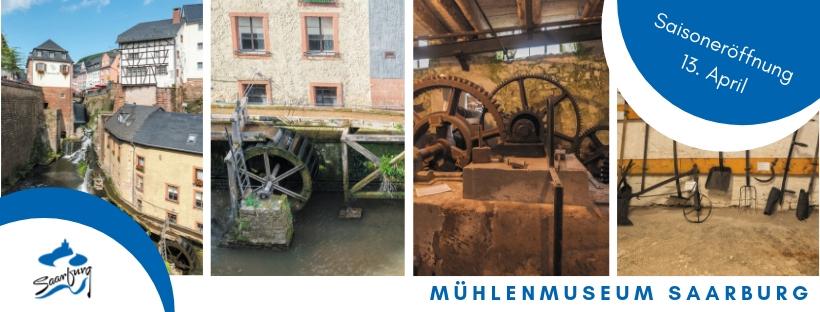 Fotocollage mit Mühlenbildern