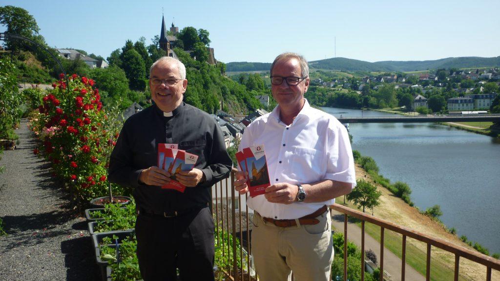 Pastor Goeres und Bürgermeister Dixius