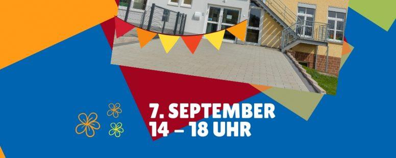 Offizielle Einweihung und Sommerfest der Kita Blümchesfeld