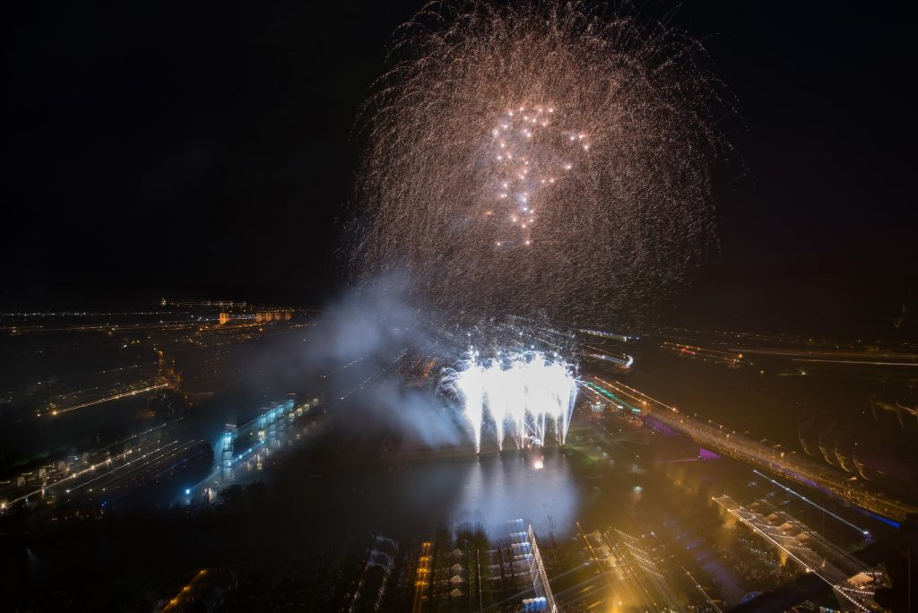Feuerwerk Saarweinfest 2019