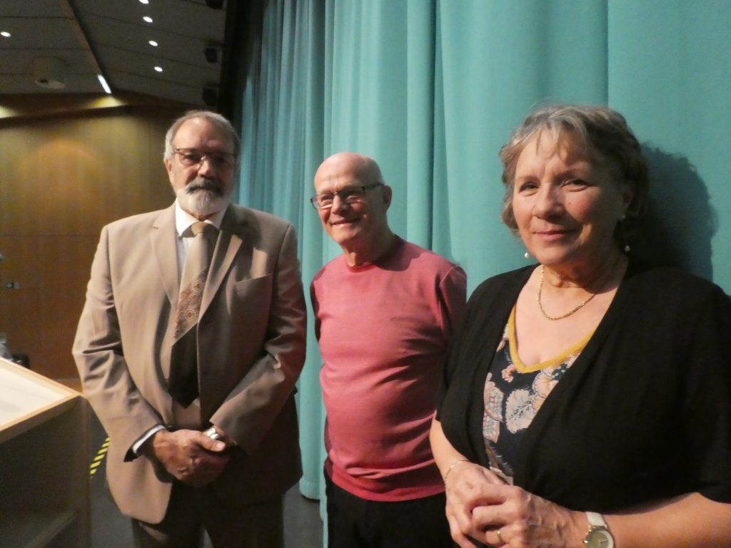 Franz-Josef Reiter, Richard Fuhs, Bernadette Panizzi