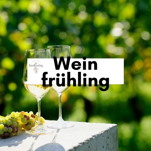 Frühling und Wein
