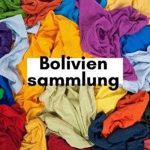 Boliviensammlung Kleider sammeln für Bildung