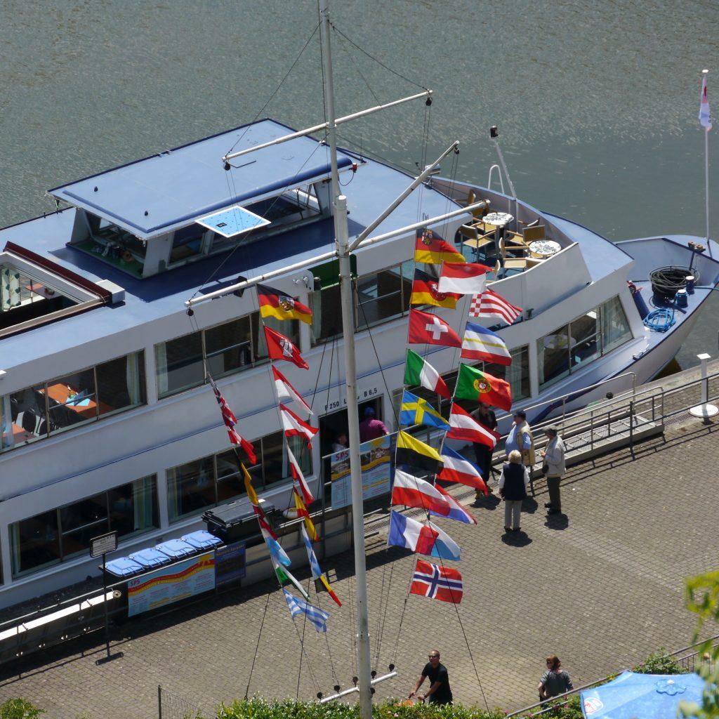 Fahrgastschiff Saarstern