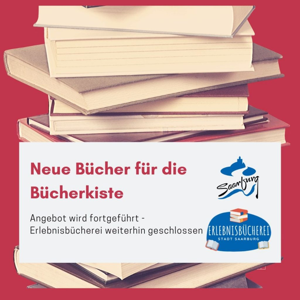 Bücherkisten-Service geht weiter