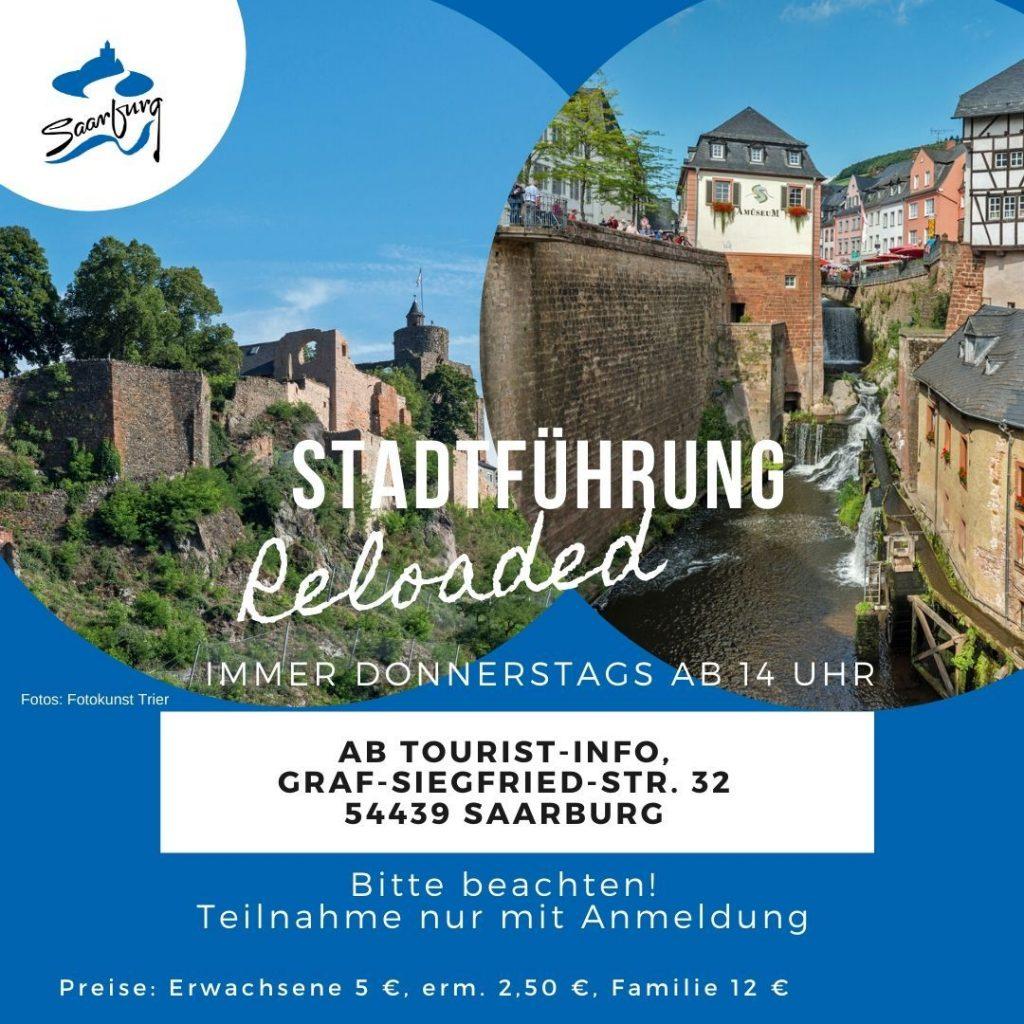 reloaded Stadtführung offen