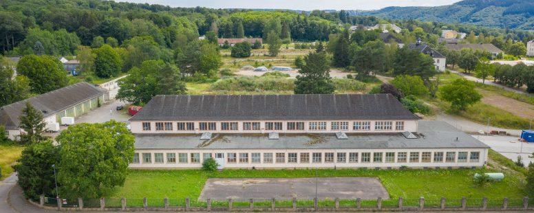 Start der Bauarbeiten am Küchenhaus und an den Gärten von Saarburg