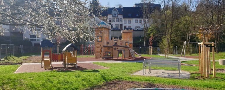 Neueröffnung des Mehrgenerationenplatzes in den Leukauen im Mai