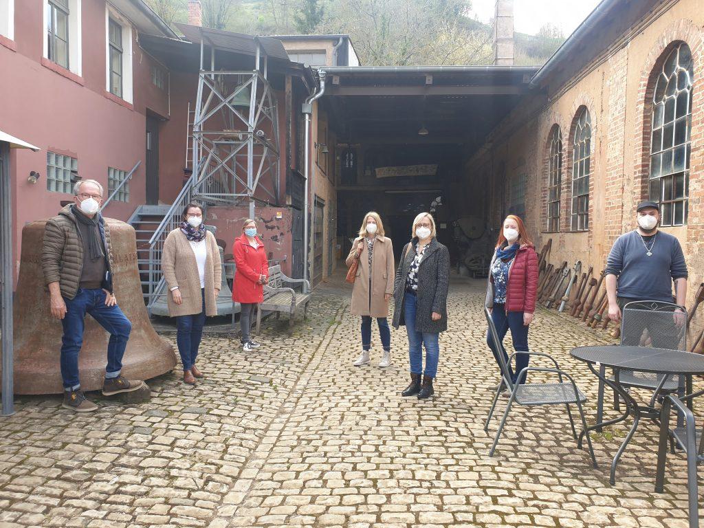 Mitarbeiterinnen der Stadt Saarburg und der Saar-Obermosel-Touristik