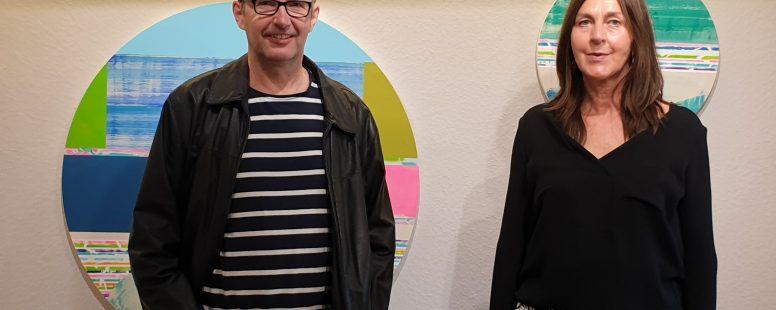 """Vernissage zur Ausstellung Thomas Heger """"Die Farbe von Wasser"""""""